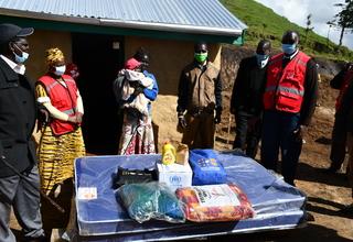 West Pokot Flood victims relief supplies