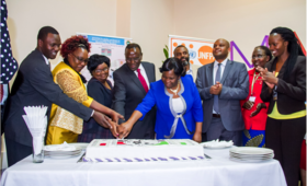 The official launch of the Midwives Association of Kenya officiated by Kenya's Health Cabinet Secretary in Eldoret, Kenya. Photo by UNFPA KENYA